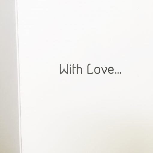 Greeting Card Text With Love