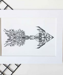 Wall Art Print Arrow