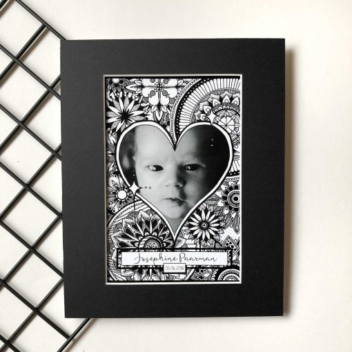 Custom Heart Frame