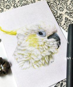 Greeting Card Cockatoo