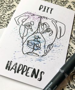 Pitt Happens Greeting Card